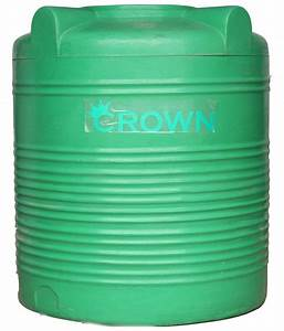 Buy Crown Green Lldpe Plastic Triple Layer Water Tank For ...