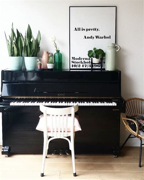 professionals secrets piano decor ideas    pop