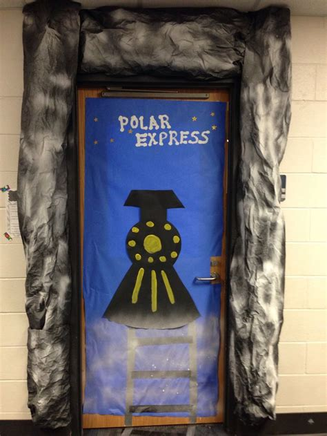 Polar Express Door Decorating Ideas by 17 Best Images About Class Door Decor On