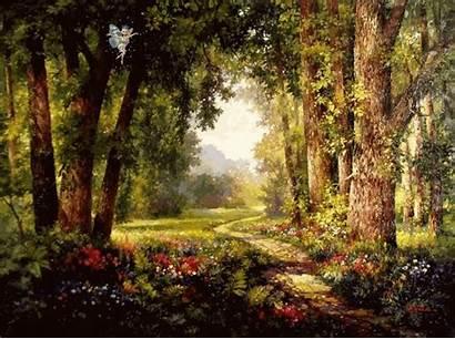 Enchanted Forest Backgrounds Wallpapers Garden Path Gantner