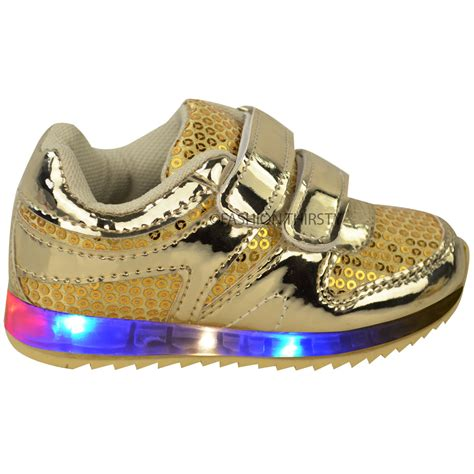 light up shoes for baby new babies led light up trainers strappy