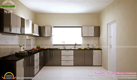 Beautiful Interiors Indian Homes - kitchen and master bedroom designs kerala home design and floor plans
