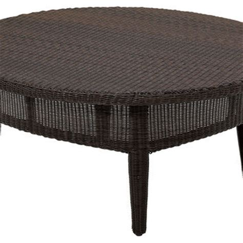 outdoor cocktail table round casablanca round cocktail table outdoor from one kings lane