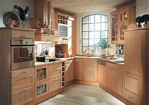 Küchen In Holzoptik : naturholz lanhausk che in erle massiv ~ Markanthonyermac.com Haus und Dekorationen