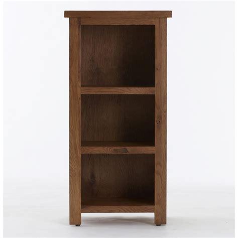 Small Rustic Bookcase by Emporium Home Bretagne Rustic Oak Small Bookcase