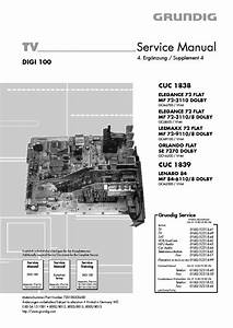 Grundig Cuc 1838 1839 Service Manual Download  Schematics  Eeprom  Repair Info For Electronics