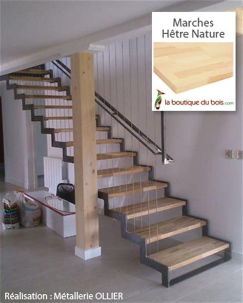 escaliers bois m 233 tal exemples de r 233 alisations sur mesure