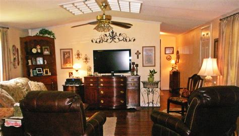 Remodel Ideas For Living Room by The Davis Home A Sweet Single Wide Remodel Mobile Home