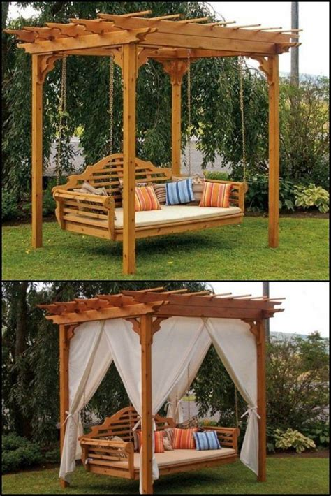 Outdoor Bed Swing