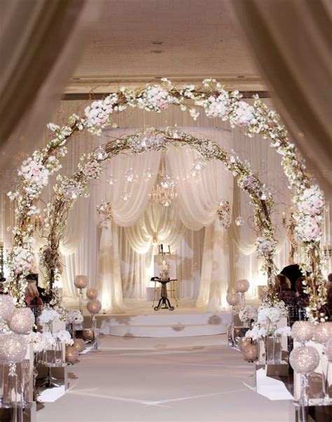 wedding ideas for ceremony decorations 20 awesome indoor wedding ceremony d 233 coration ideas