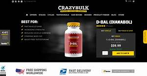 D-bal Review  2020  From Crazybulk