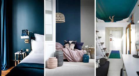 chambre en bleu chambre bleue 17 idées deco photos inspirations