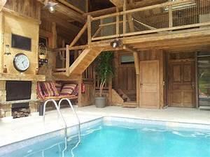 chalet de la fontaine doussard location de vacances With location chalet avec piscine interieure