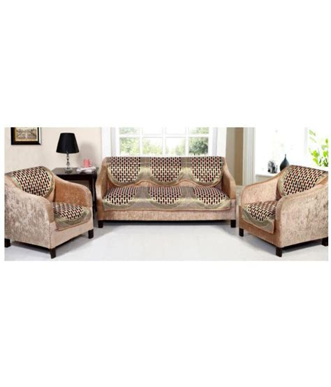 6 Seater Sofa Cover by Styletex 5 Seater Cotton Set Of 6 Sofa Cover Set Buy