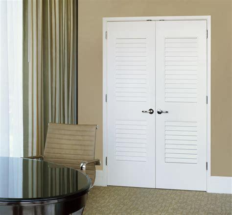 louvered interior doors paint grade mdf interior doors trustile custom doors by