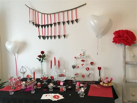 deco st deco table st valentin gifi