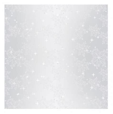 mousseux ruban papier peint transparente motif flocon de