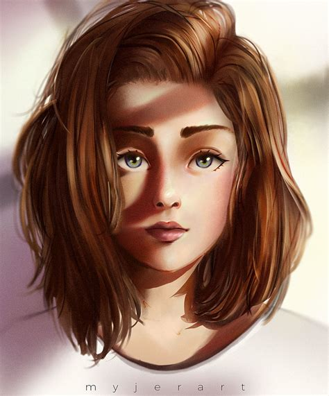 Brown Haired by Brown Haired By Myjerart On Deviantart