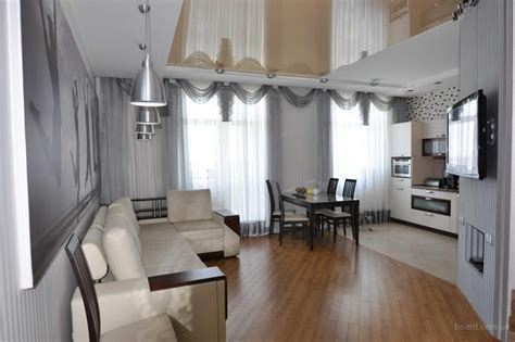 Дизайн интерьера квартиры студии N м2 (кв м