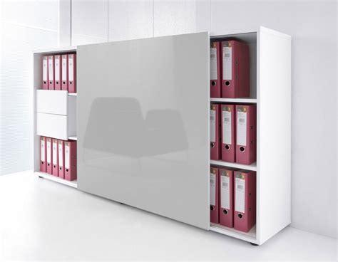 bureau store armoire de bureau avec porte coulissante brillante mdd