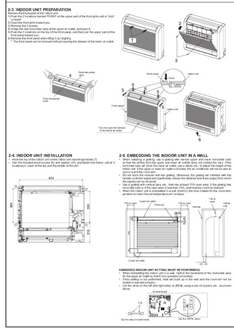 Mitsubishi Air Conditioner Installation by Mitsubishi Jg79a145h03 Floor Mounted Air Conditioner