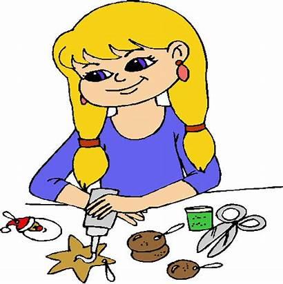 Crafts Clipart Craft Arts Making Children Clip
