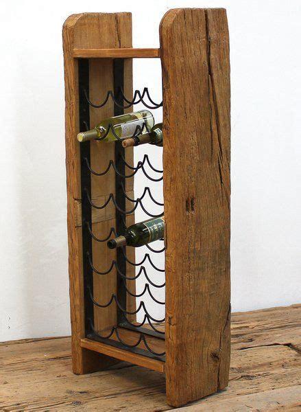 wine rack reclaimed wood iron handmade napavintners