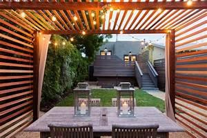 Pergola Holz Modern : pergola en bois pour la terrasse en 22 exemples superbes ~ Michelbontemps.com Haus und Dekorationen