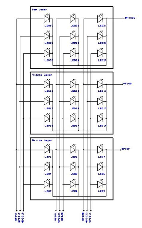 etching pathways raspberry pi xx led cube