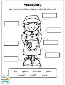 thanksgiving craftivity language worksheets for speech
