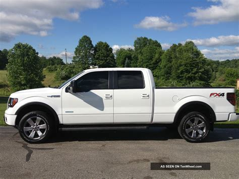 ford truck white 2012 ford f 150 fx4 ecoboost white crew cab 20 inch wheels