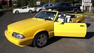 1993 Mustang Lx 5 0 Convertible For Sale