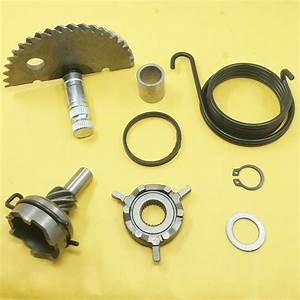 50cc Gy6 139qmb Scooter Atv Kick Start Kit Complete Gear Shaft Spring Pinion
