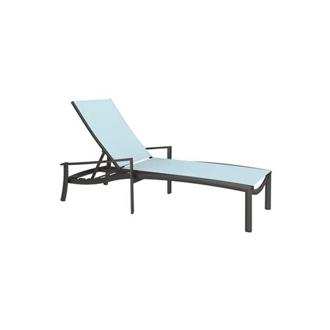 Tropitone Chaise Lounge Chairs by Tropitone 891532 Kor Relaxed Sling Chaise Lounge Discount