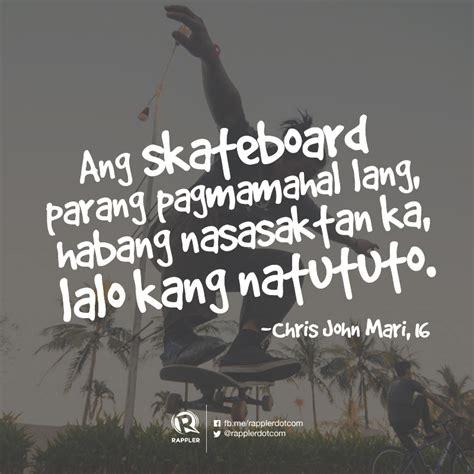 skateboarding hugot lines