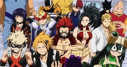Academia Hero Characters Fan