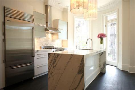 marble kitchen island claremont chandelier contemporary kitchen miranda interior design