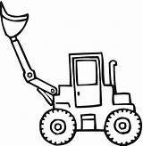 Shovel Coloring Pages Clipart Clues Drawing Tractor Blues Snow Tom Clipartmag Pillowcases sketch template