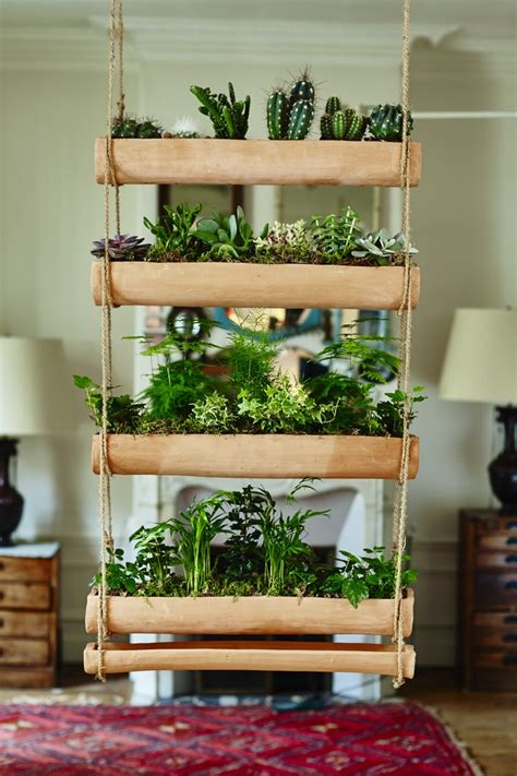 hanging wall garden mix and match make your own miniature hanging garden
