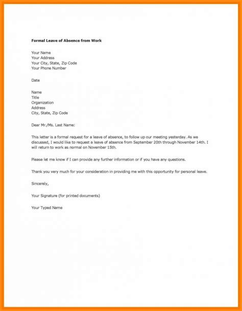 holiday request letter template uk school  leave design