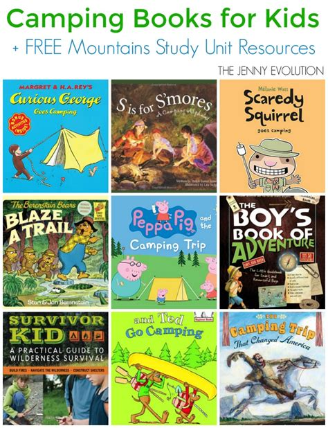 childrens camping books for the evolution 828   Childrens Camping Books