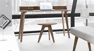 Design Sekretär Modern : sekret r in skandinavischem design aus massivem nussbaum ~ Sanjose-hotels-ca.com Haus und Dekorationen