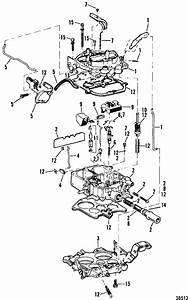 Mercruiser 260 Gm 350 V-8 1987 Carburetor  Rochester