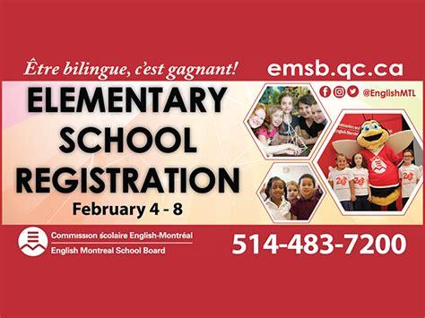 elementary school registration week