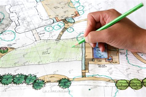 how to draw landscape plans landesignbuld services
