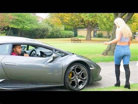 Lamborghini Gold Digger Prank Hyggestedet