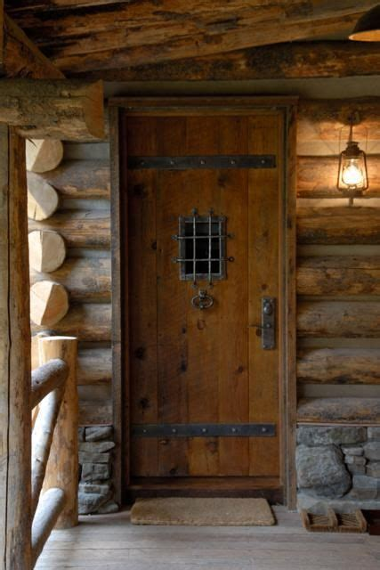 image result  rustic cabin front doors fishing cabin