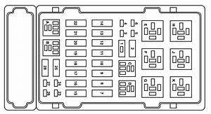 Ford E-250  2004  - Fuse Box Diagram