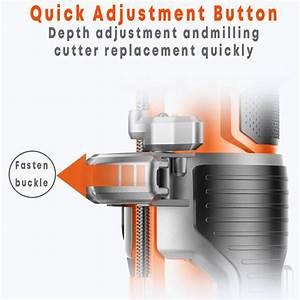 220v Electric Trimmer 1280w 35000r  Min Wood Trimmer