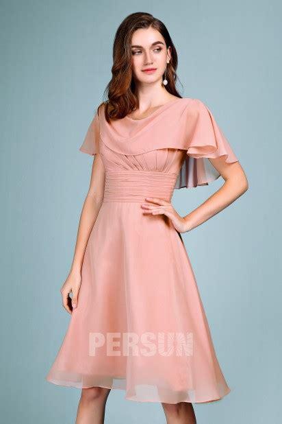 robe de mariée voilée robe soir 233 e mariage carnation courte avec voilage drap 233 pliss 233 robedesoireecourte fr